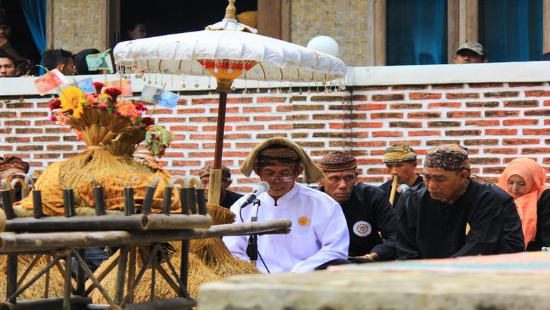 Upacara adat Seren Taun yang setiap tahun digelar masyarakat Banten Kidul (foto: Iqbal/Okezone)