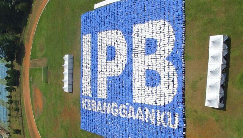 Tujuh Formasi Mozaik IPB Pecahkan Rekor Dunia