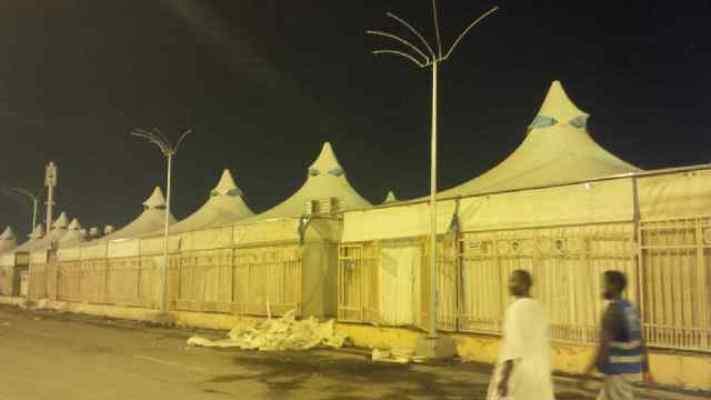 Suasana di Mina (Foto: Muhammad Saifullah)
