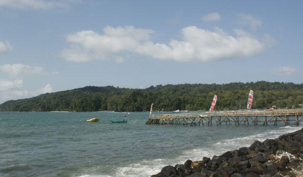 Pantai Pangandaran, Jawa Barat (Fitri/Okezone)