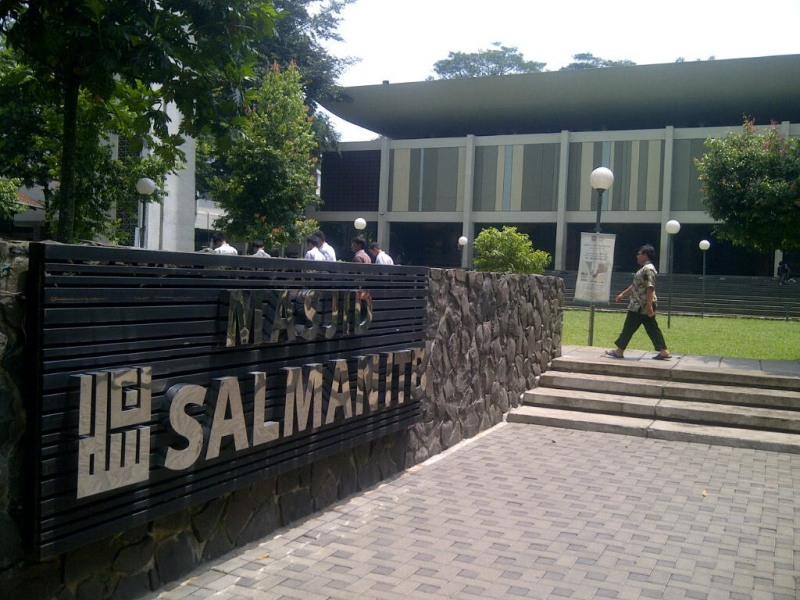 Image result for masjid salman itb