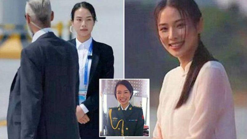 Inilah Shu Xin yang disebut oleh para netizen sebagai pengawal tercantik di KTT G20 (Foto: Elsalvador.com)