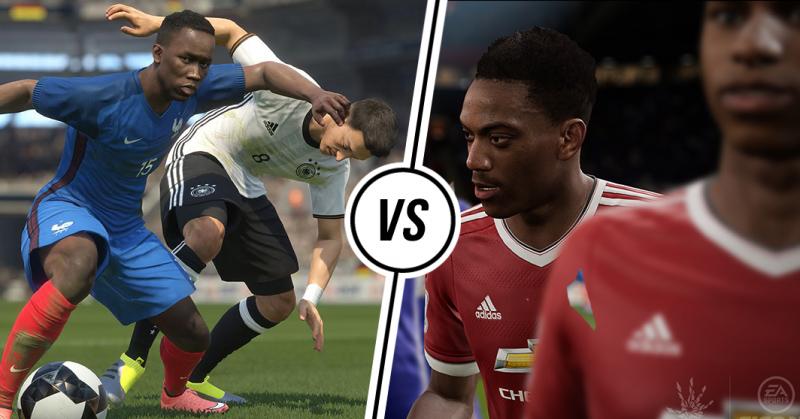 'PES 17' vs 'FIFA 17', Mana Lebih Unggul (1) ?
