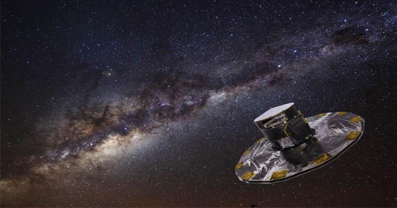 ESA Lepaskan Peta Paling Akurat dari Bima Sakti