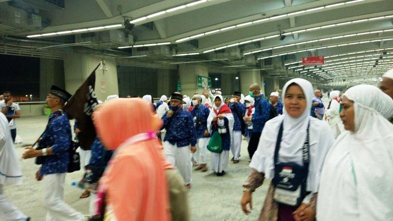 Jamaah haji Indonesia (Foto: Saifulloh/Okezone)