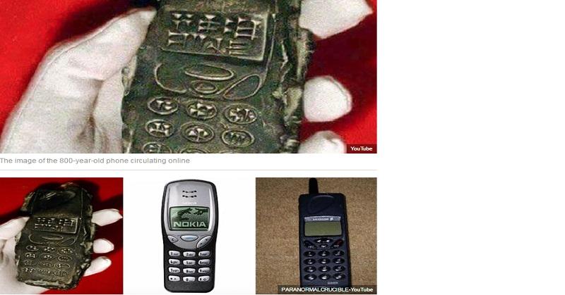 Arkeolog Temukan Ponsel Berusia 800 Tahun, Tanda Adanya Time Travel?