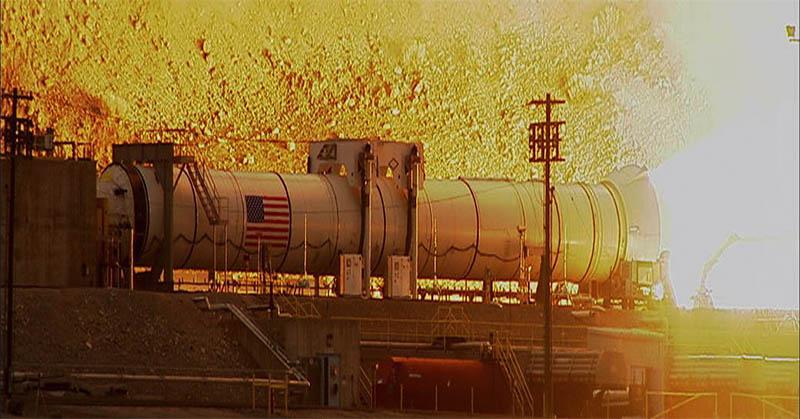 NASA Unggah Video Ledakan Uji Pesawat Ruang Angkasa