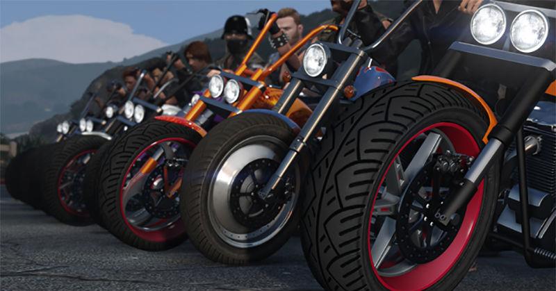 Geng Motor 'Serbu' GTA 5 Online