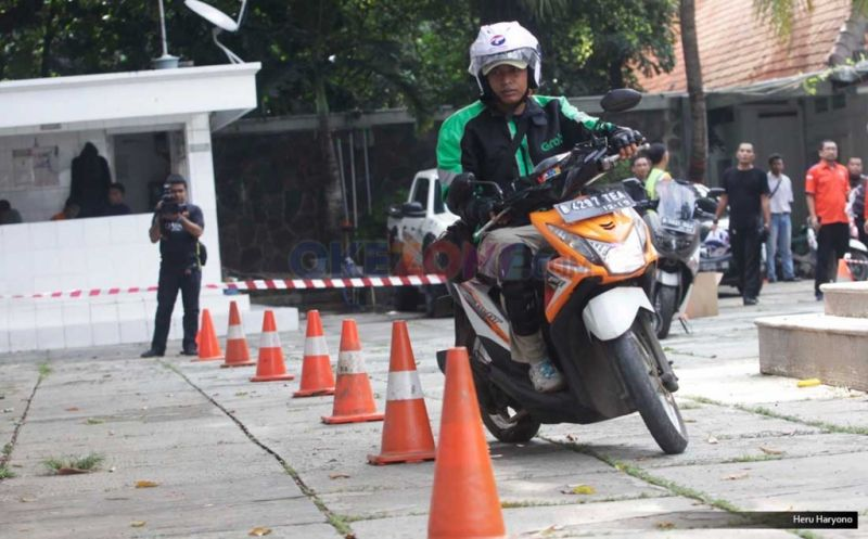Pelatihan Safety Riding (Foto: Okezone)