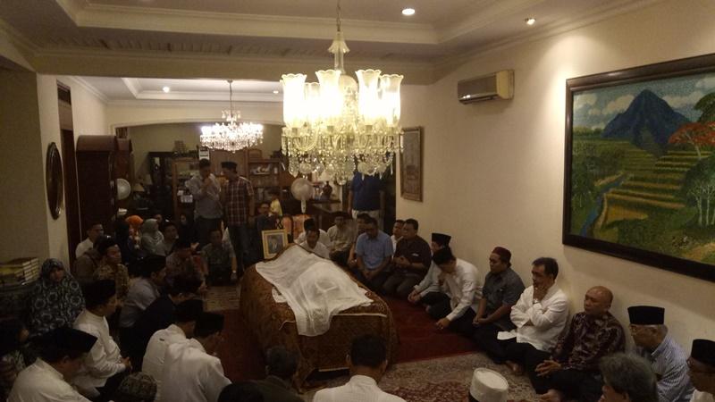Pejabat dan Menteri Era SBY Melayat ke Rumah Duka Maftuh Basyuni