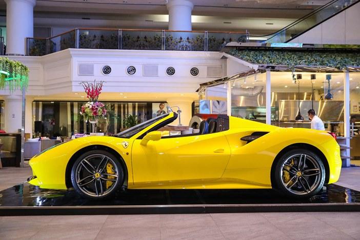 Pemilik mobil sport Ferrari memiliki karakter yang berbeda dengan mobil standar (foto: dok.Ferrari Jakarta/Okezone)