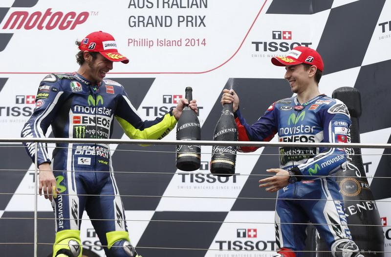 Dari Home Race Rossi ke Lorenzo, GP Aragon Spesial untuk Movistar Yamaha