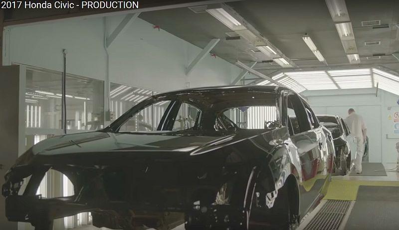 Honda Civic hatchback (Foto: Youtube)