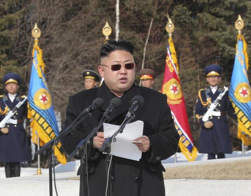 Kim Jong-un ancam serang Korsel dan AS (Foto: Reuters)