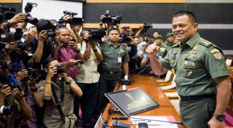 Panglima TNI Jenderal Gatot Nurmantyo (Okezone)