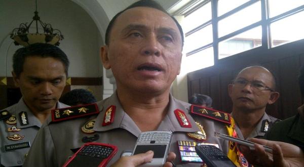 Mantan Kadiv Propam Mabes Polri yang jadi Kapolda Metro Jaya Irjen M Iriawan (Okezone)