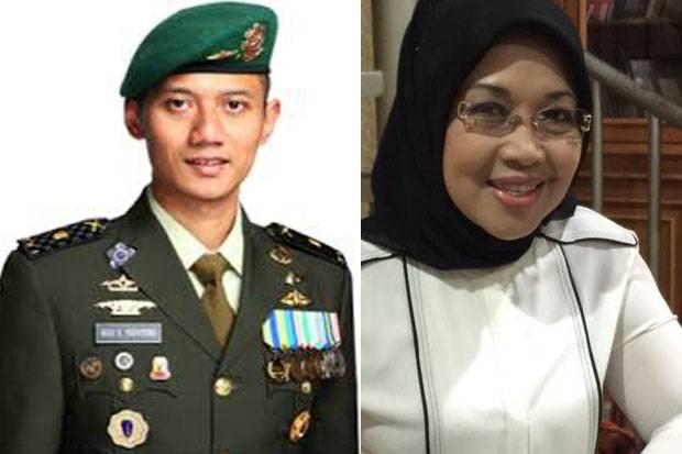 Agus Harimurti dan Sylviana Murni (Foto: Sindonews)