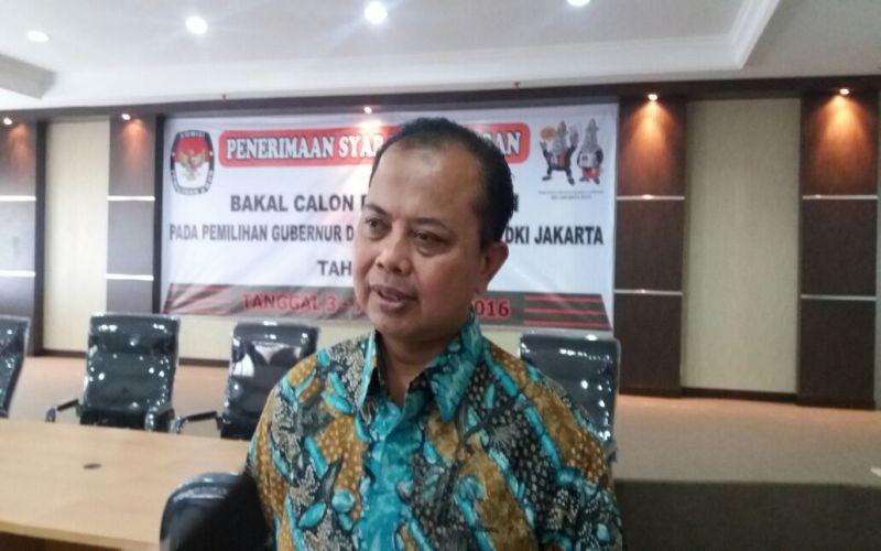 Ketua KPU DKI, Sumarno (Foto: Lina/Okezone)