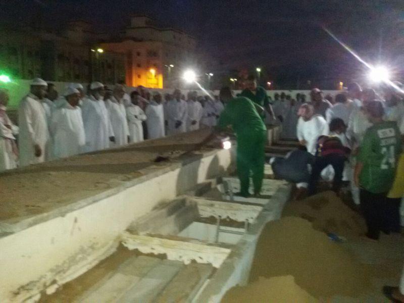 Pemakaman jamaah haji Indonesia di Makkah Almarhumah Armi (Foto: Saifullah/Okezone)