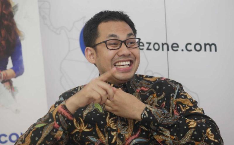 Ketua KPI Pusat, Yuliandre Darwis (foto: Okezone)