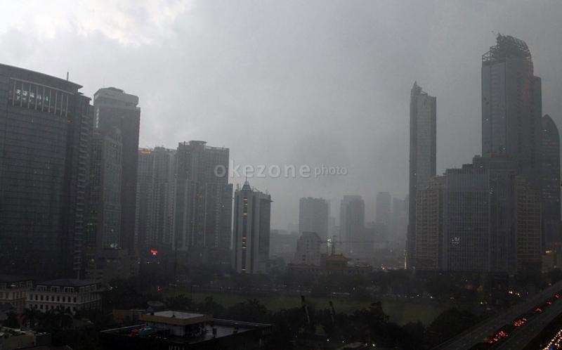 BMKG: Hujan Lebat Intai Indonesia Empat Hari ke Depan