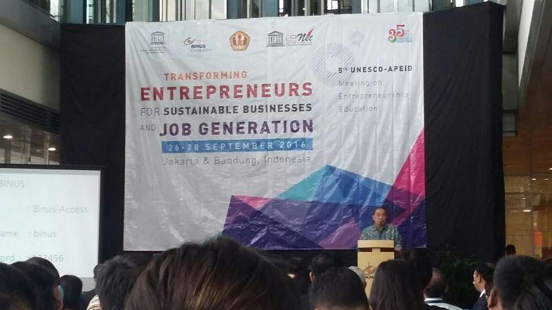 Perwakilan Negara Asia Berkumpul Bahas Pendidikan Entrepreneurship