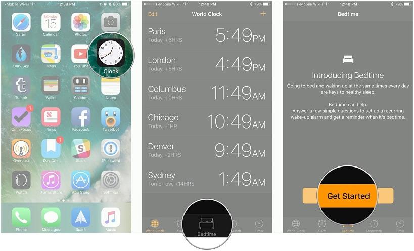 Cara Menggunakan Fitur Bedtime di iOS 10