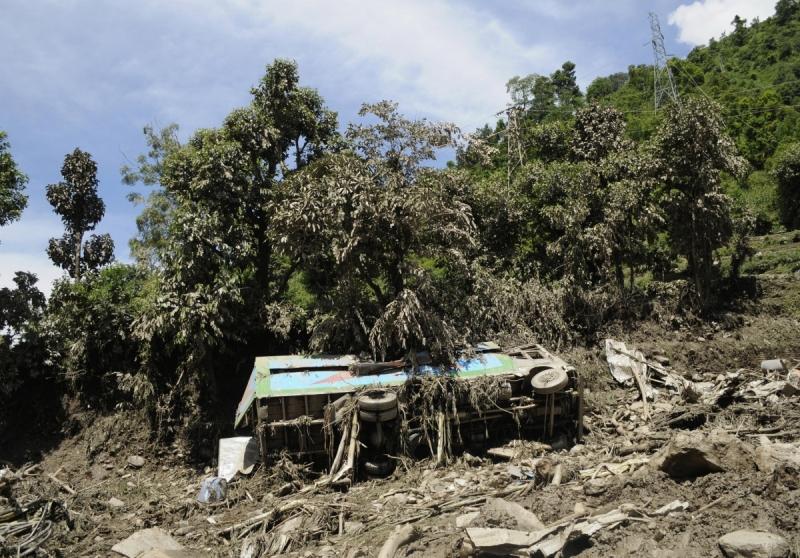 Kecelakaan bus di Nepal (Foto: IB Times)