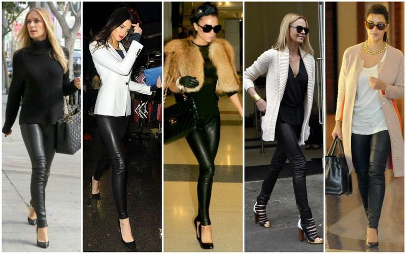 Top Fashion 2 Sontek Gaya Keren Selebritis Hollywood Dengan Paduan Legging Okezone Lifestyle