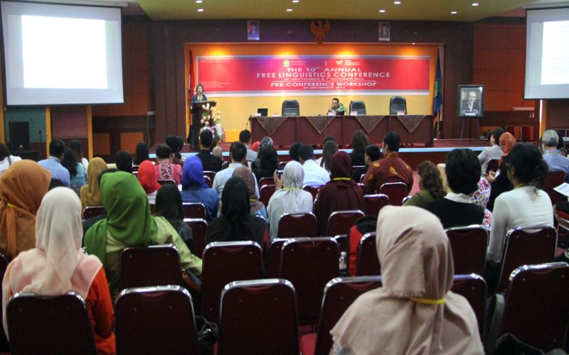 Ahli Linguistik dari 20 Negara Berkumpul di Universitas Bung Hatta