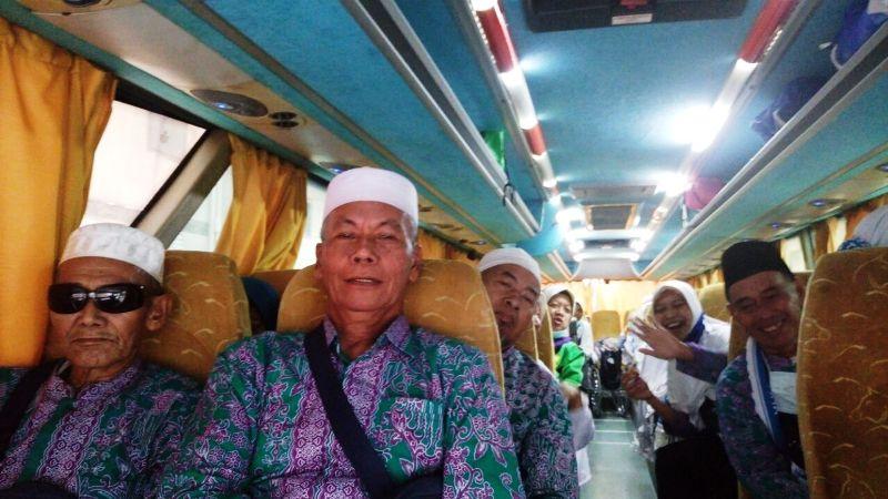 Kepulangan Jamaah Haji (Foto: Saifulloh/Okezone)