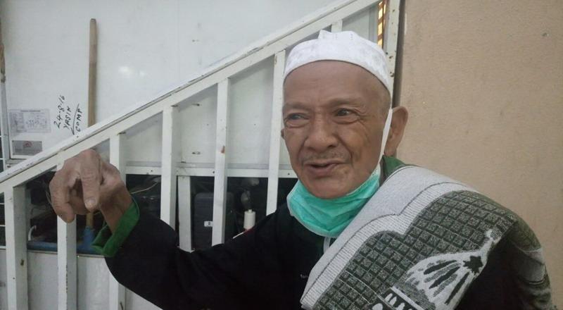 jamaah haji asal Kabupaten Bombana, Muhammad (Foto: M Saifulloh/Okezone)