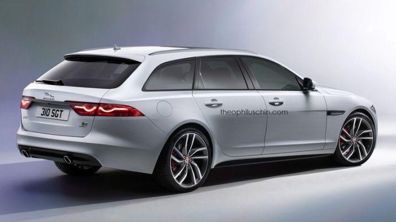 Jaguar XF akan hadir dalam bentuk wagon (Theophiluschin.com)