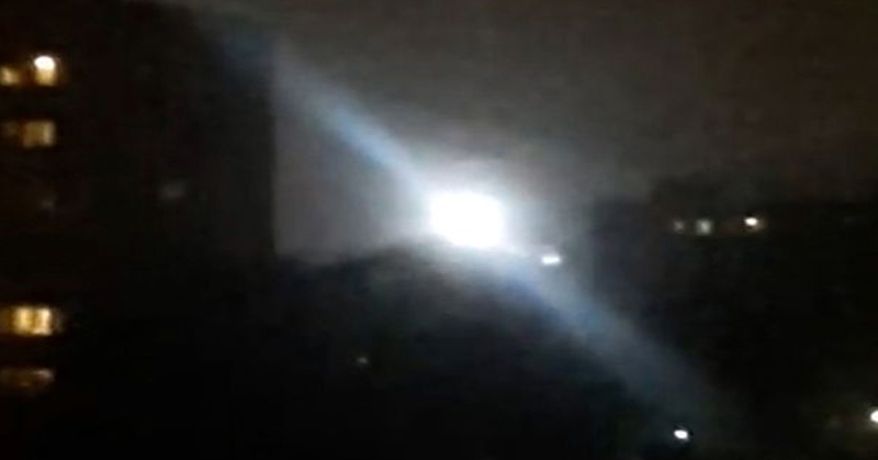 Langit Moskow Dihebohkan dengan Kemunculan UFO