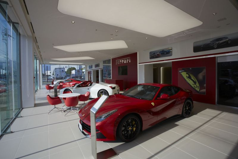 Ferrari Makin Agresif di Jepang