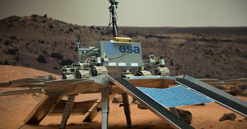 Robot Penjelajah ESA Siap Cari Jejak Alien di Mars