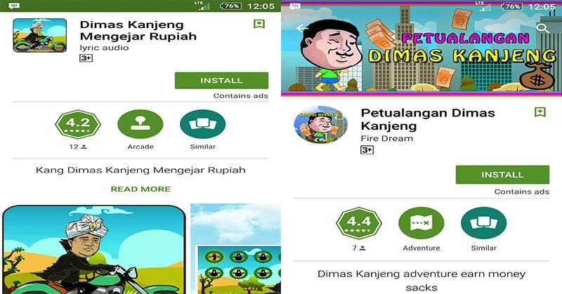 Game Unik Dimas Kanjeng 'Gandakan Uang' di Android (2-Habis)