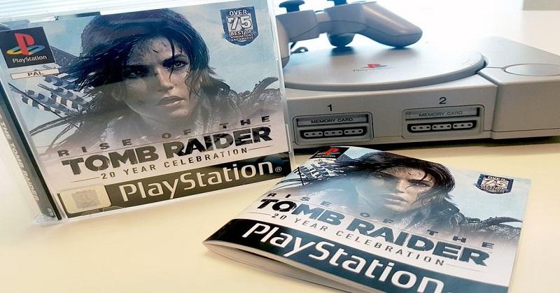 Nostalgia Game 'Lara Croft' Edisi Lawas