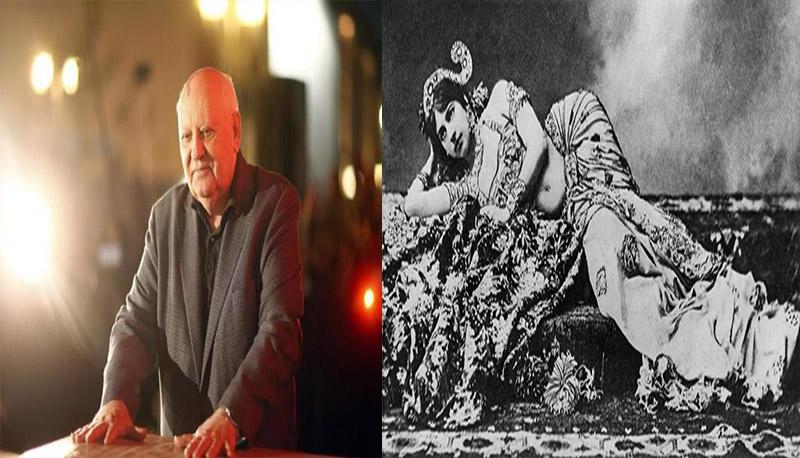 Mata Hari dan Mikhail Gorbacev (Foto: History)