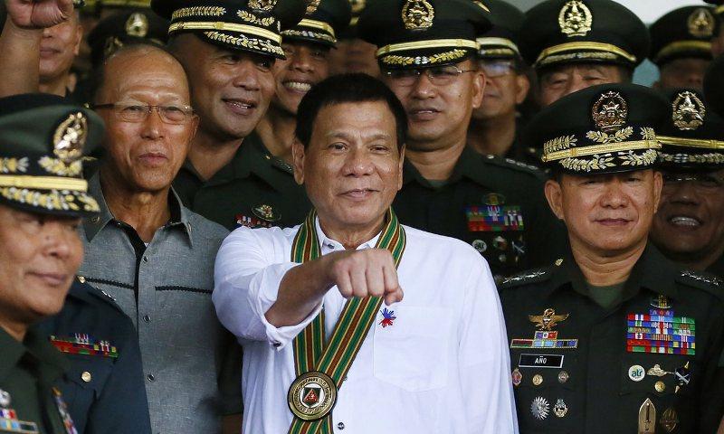 Presiden Filipina Rodrigo Duterte. (Foto: Bullit Marquez-AP)
