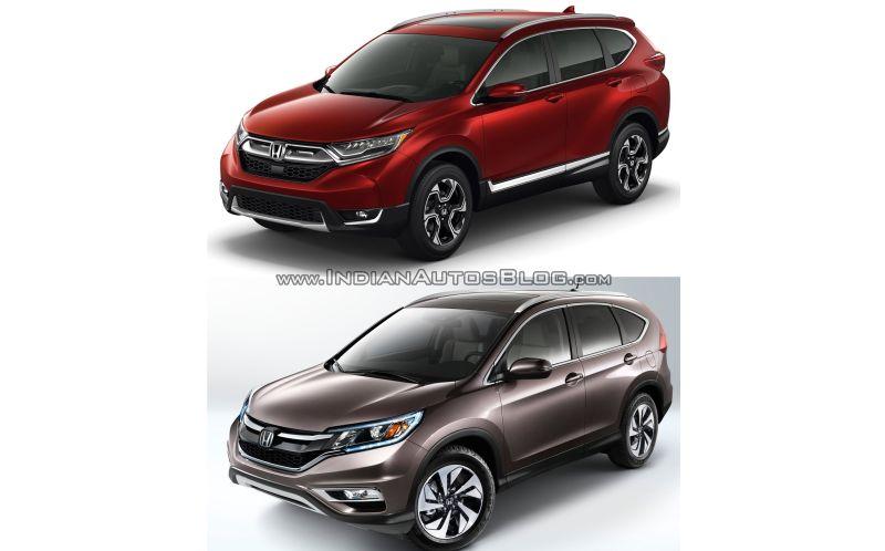Honda CR-V (Indianautosblog)