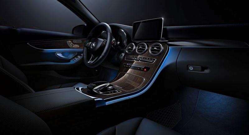 Kabin mewah setara S Class bisa dirasakan pemilik sedan entry level C Class (Carscoops)