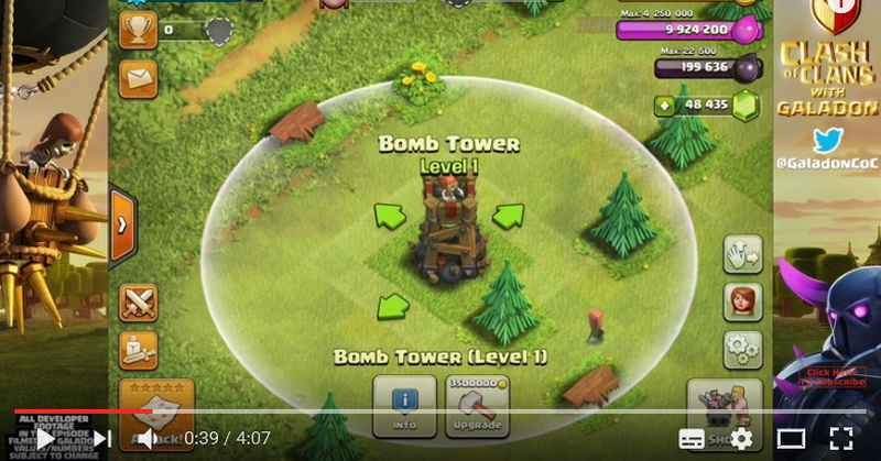 Mengenal Bomb Tower di Game Clash of Clans