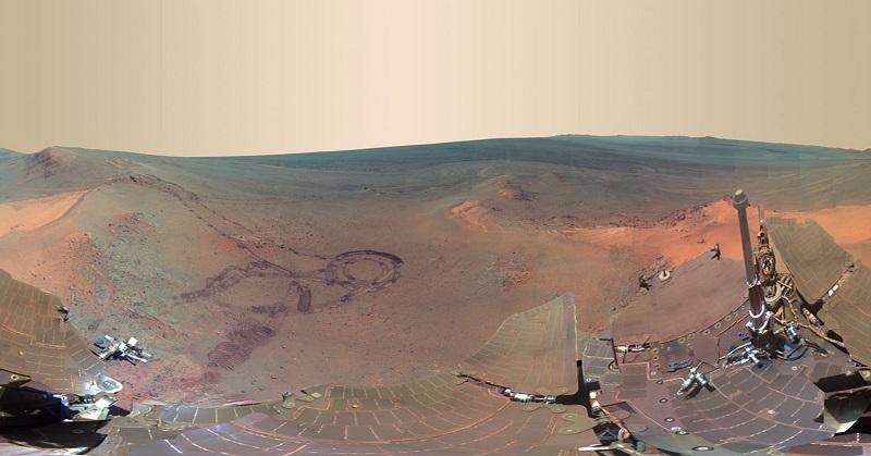 Menelusuri Jejak Alien di Mars