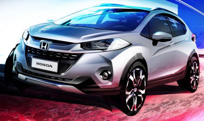 Honda WR-V (Carscoops)