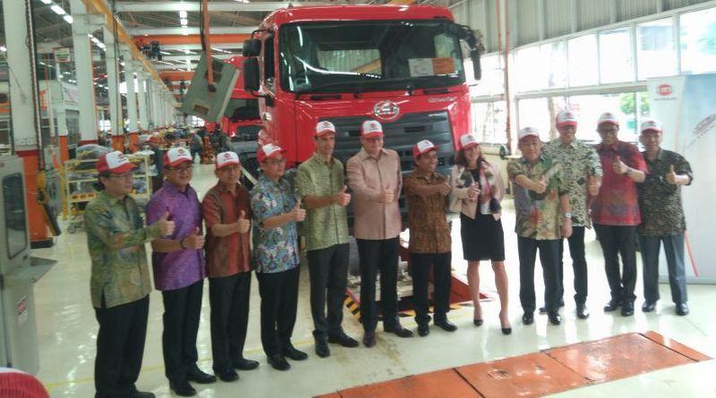 Peresmian pabrik UD Truck Indonesia (foto: Okezone)