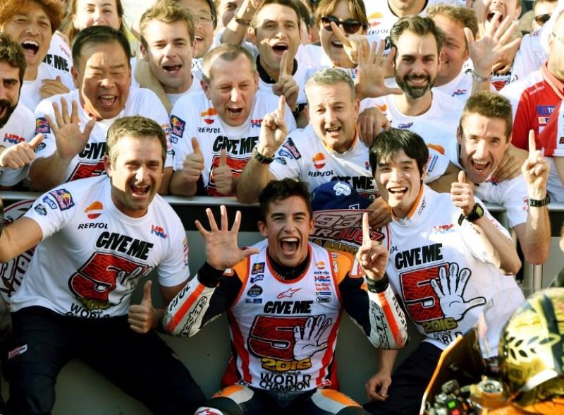Marquez Baru Pikirkan Juara Dunia saat di Valencia