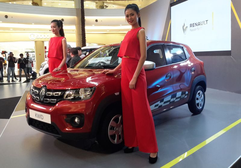 Renault Kwid untuk pasar Indonesia bebas recall (Foto: Pius/Okezone)