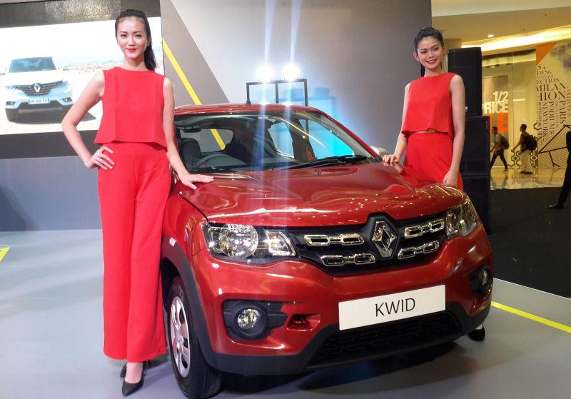 Renault tegaskan Kwid bukan mobil LCGC (Foto: Pius/Okezone)