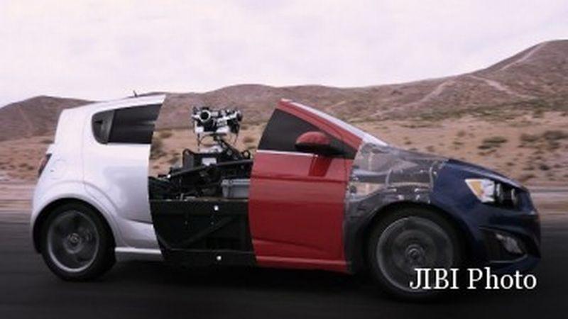 Inilah Mobil Konsep yang Bisa Berubah Bentuk (Themill)